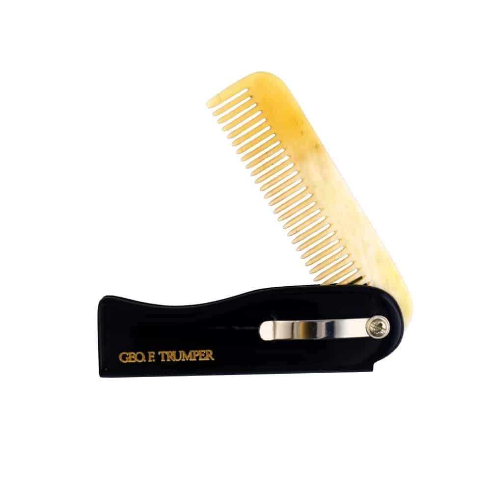Horn Folding Moustache/Beard Comb