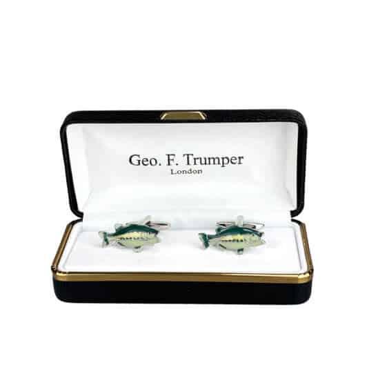 green-silver-fish-cufflinks