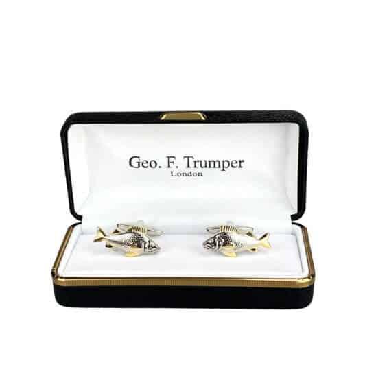 silver-gold-fish-cufflinks