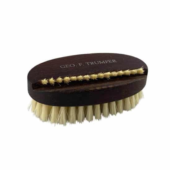 thermo wood oval nail brush